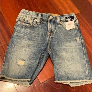 Brand new distressed polo Ralph Lauren shorts sz3